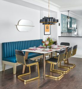 virtual dining room styling